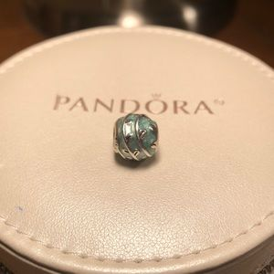 Pandora turquoise blue charm